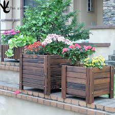 Wooden Planter Box Plans by Wood Planter Flower Box Plans Pot Buy Wooden Flower Boxes Plans