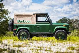 land rover classic lifted barbour and orvis are giving away a custom land rover defender