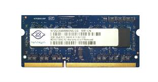 Memory 4gb Pc nt2gc64b88b0ns cg nanya 2gb sodimm pc10600 memory