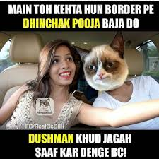 Selfie Meme - 24 dhinchak pooja selfie maine leli aaj meme that you can t miss