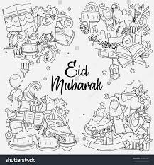 eid aladha hand drawn sketch eid stock vector 473062399 shutterstock