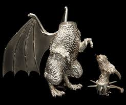 sterling silver dragon lamp dudeiwantthat com