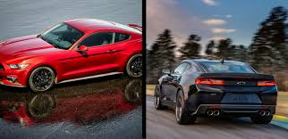 camaro and mustang to 2017 ford mustang vs 2017 chevrolet camaro