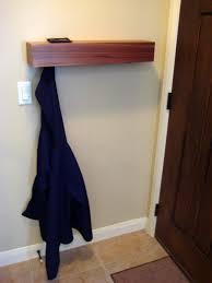 behind the door coat hanger shelf