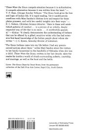 these were the sioux bison book s mari sandoz 9780803291515