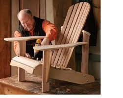 Plans For Wooden Garden Chairs by How To Build An Adirondack Chair Startwoodworking Com