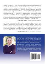 downline leadership blueprint for network marketing leaders eric