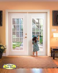 Single Patio Doors With Built In Blinds Plastpro French Doors French Door Fiberglass Front Doors