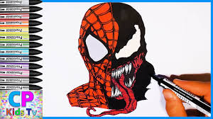 spiderman vs venom coloring pages part 54 spiderman coloring