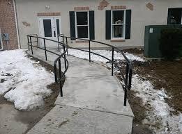 Curved Handrail Railing