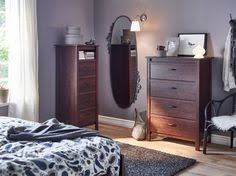 brusali bed frame with 4 storage boxes brown bed storage bed