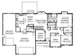 Western Ranch House Plans Western Home Decorating Ranch House Plans