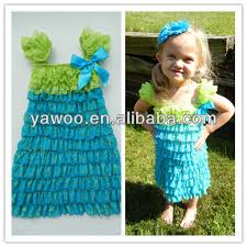 newest arrival wholesale cheap lovely hand made baby dress