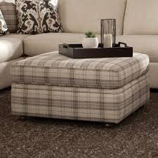 craftmaster 751100 square storage ottoman with casters boulevard