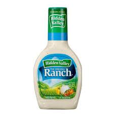 hidden valley ranch dressing 16 oz