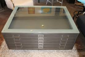 glass top display coffee table glass top display coffee table with drawers writehookstudio com