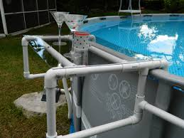build a great shelf for your above ground pool ground pools