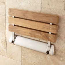 wall mounted folding shower seat with legs teak fold up shower seat bathroom