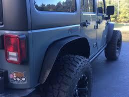 jeep fender flares jk jeep wrangler flat fender flares u2013 set u2013 auto line