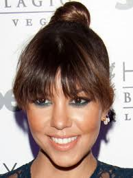 bet bangs for thick hair low forehead the best and worst bangs for heart shaped faces beautyeditor