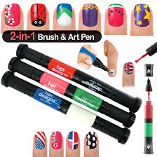 two way nail art pen nubar best nail 2017 nubar glitter nail art
