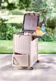 best patio lawn u0026 garden suncast resin patio cooler station