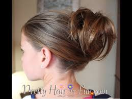 usinghair cls easy clip updo hairstyle youtube