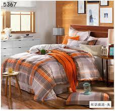 Burnt Orange Comforter King Incredible Online Buy Wholesale Orange Grey Bedding From China