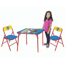3 piece table and chair set nickelodeon paw patrol 3 piece table and chair set walmart com