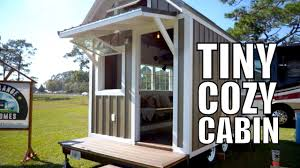tiny home cabin tiny cabin on wheels only 15k tiny home thow free range homes