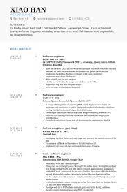 resume tutorial software developer resume template worthy visualize engineer