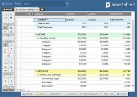 Business Income And Expense Spreadsheet All The Best Business Budget Templates Smartsheet