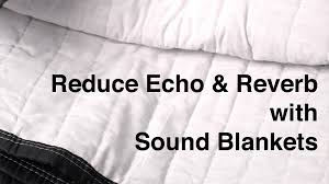 how to fix your sound by reducing echo and reverb with sound