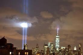 9 11 Memorial Lights World Trade Center Memorial Lights Return To New York U2013 In
