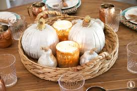 an easy thanksgiving tablescape freebies the handmade home