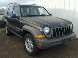 2006 green jeep liberty 1j4gl48kx6w283865 2006 green jeep liberty sp on sale in co