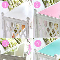 Different Ways To Paint A Table Plain To Preppy Stool Makeover Using Diy Chalk Paint In My Own Style