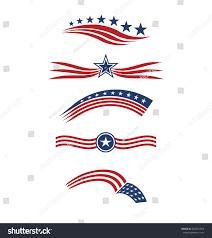Star Flags Usa Star Flag Logo Stripes Design Stock Vector 332931554