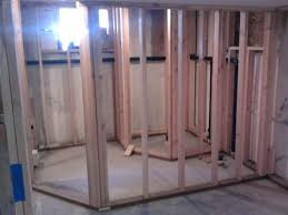 bathroom framing a basement bathroom simple on bathroom regarding
