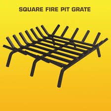 Firepit Grates Welded Steel Grates For Pits And Fireplaces