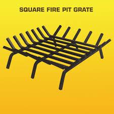 Firepit Grate Steel Pit Grate Standard