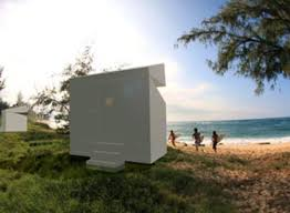 paco cube prefab vacation house cool hunting