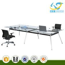 Glass Center Table by Tempered Glass Conference Table Tempered Glass Conference Table