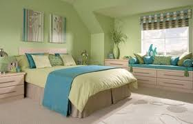 green bedroom ideas green bedroom with blue accent home interiors