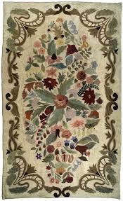 vintage hooked rugs rag rugs by doris leslie blau new york city