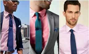 suit and tie combinations with a pink shirt the idle man