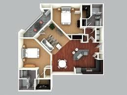 Floor Plan 3d Software 3d Colored Floor Plan3d Home Design Free House Plan Software
