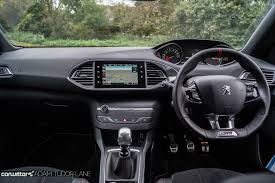 peugeot car interior peugeot 308 gti review carwitter