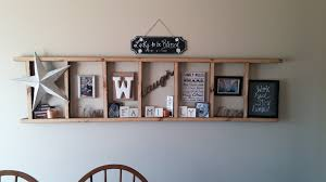 Short Ladder Bookcase by Rustic Ladder Shelf The Domestic Four