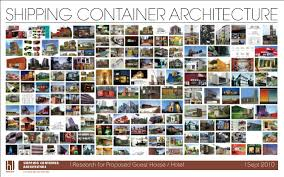 Interior Dimensions Of A Shipping Container Shipping Container Architecture Research